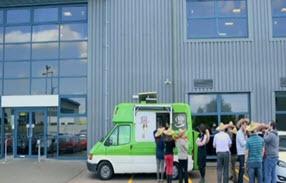 راه اندازی فروش غذا با خودرو